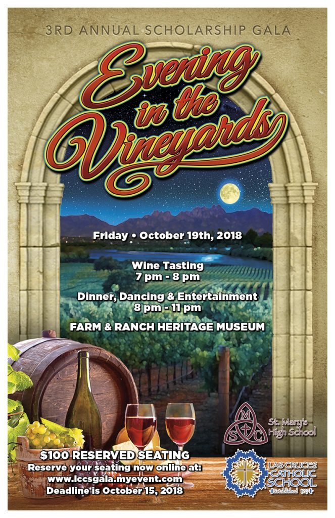 LCCS Evening in the Vineyard poster
