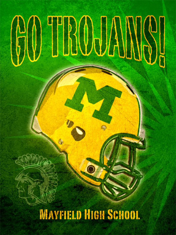 Mayfield High poster